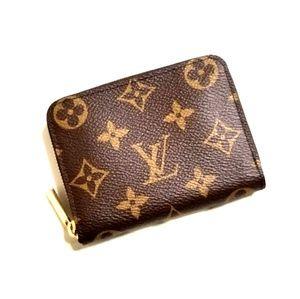 Louis Vuitton Monogram Compact Zippy Wallet